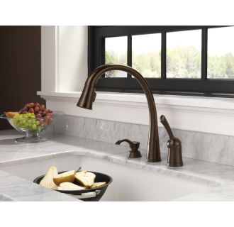 Delta-980T-DST-Installed Faucet in Venetian Bronze
