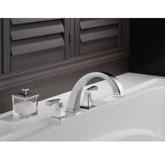 Delta-T2751-Installed Tub Filler in Chrome