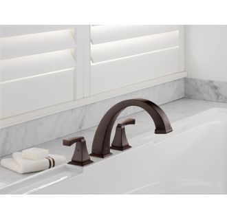 Delta-T2751-Installed Tub Filler in Venetian Bronze