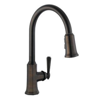 Design House 524520 Brushed Bronze Single Handle Kitchen