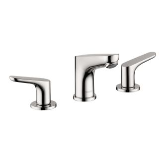 Hansgrohe 04369000 chrome focus widespread bathroom faucet with ecoright quick clean and - Hansgrohe pop up drain ...