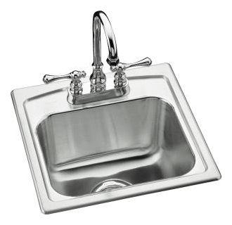 Kohler K 3349 2 Na Stainless Steel Single Basin Stainless