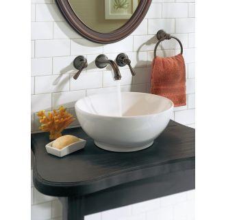Moen T6107 Chrome Double Handle Wall Mounted Bathroom