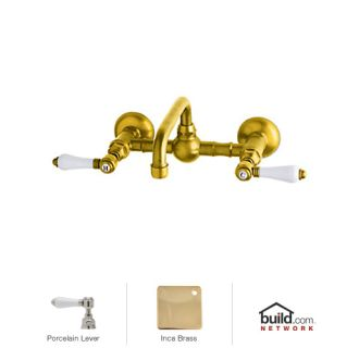 Rohl A1423lpib 2 Inca Brass Country Bath Wall Mounted
