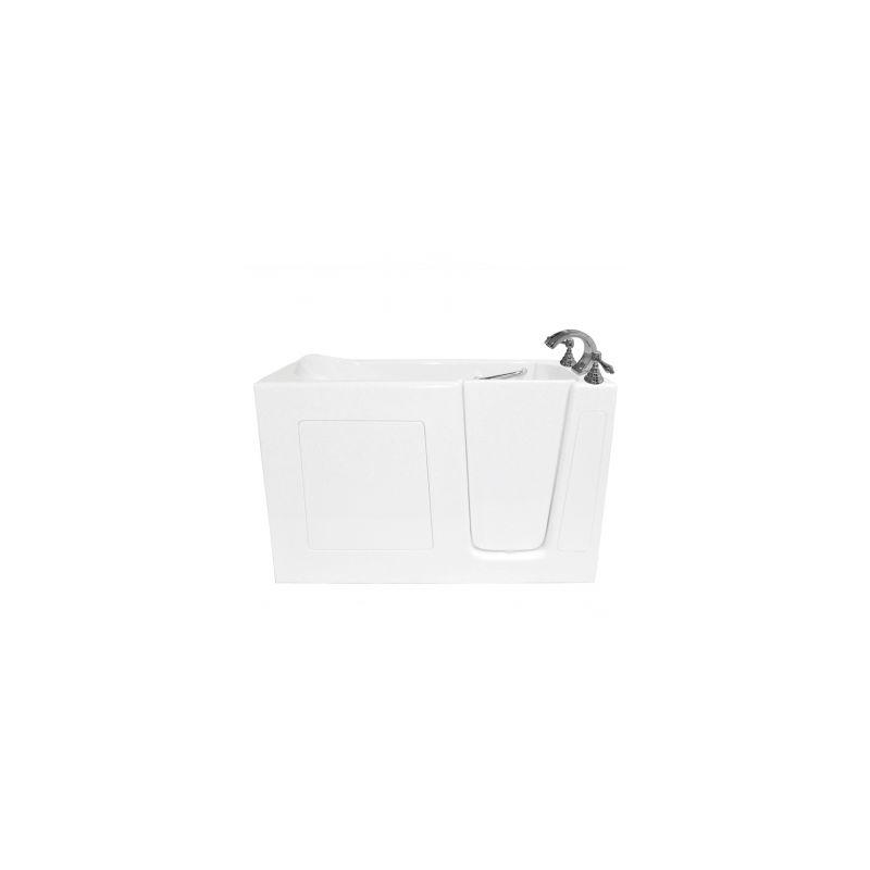 Ariel Ezwt 3060 Soaker R White Walk In Soaking Bath Tub