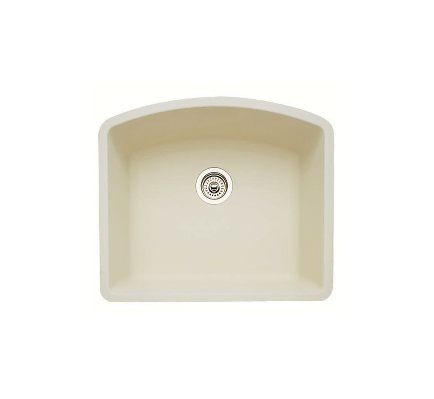 Blanco 440176 Biscuit Diamond Single Basin Silgranit Ii