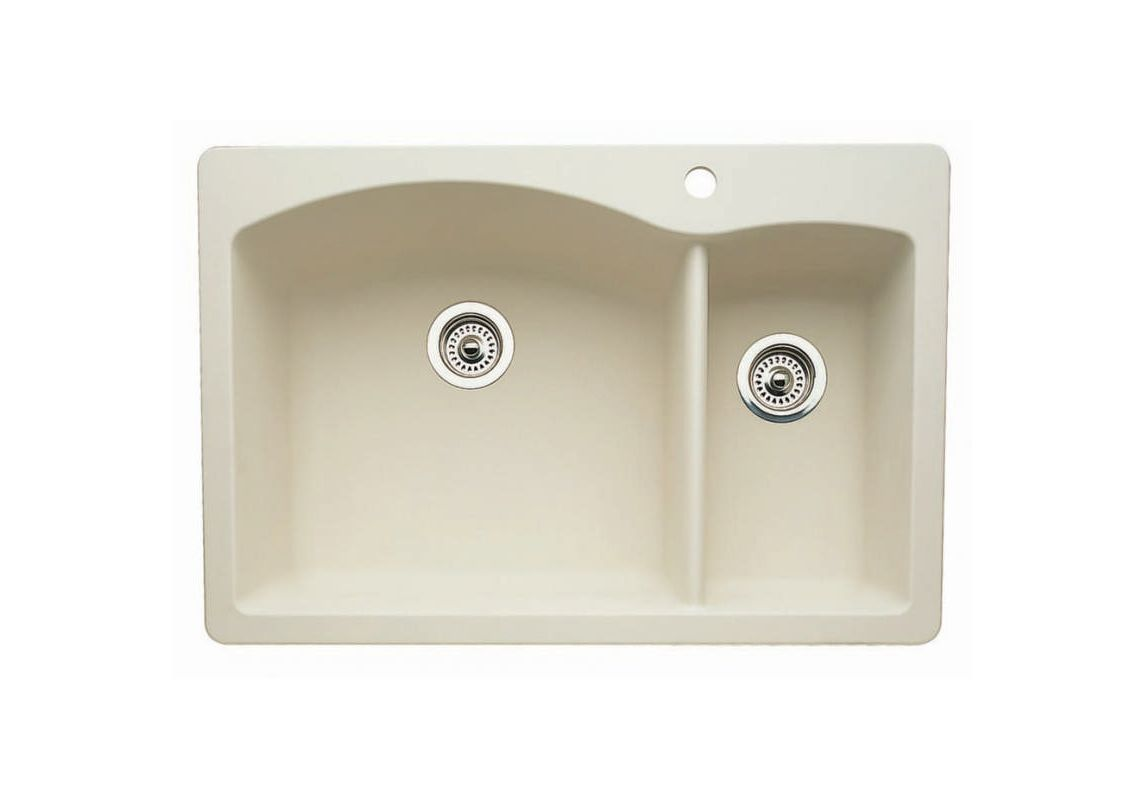 Blanco 440201 Biscuit Diamond 33 Quot Double Basin Silgranit