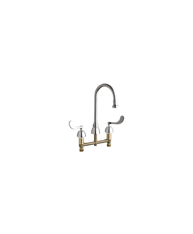 Chicago Faucets 786 Xkabcp Chrome Commercial Grade High