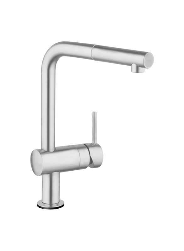 grohe 30218dc0 supersteel minta touch activated pull out