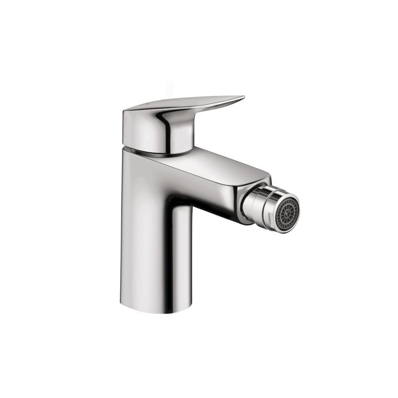Hansgrohe 71200001 chrome logis bidet faucet with pop up assembly - Hansgrohe pop up drain ...