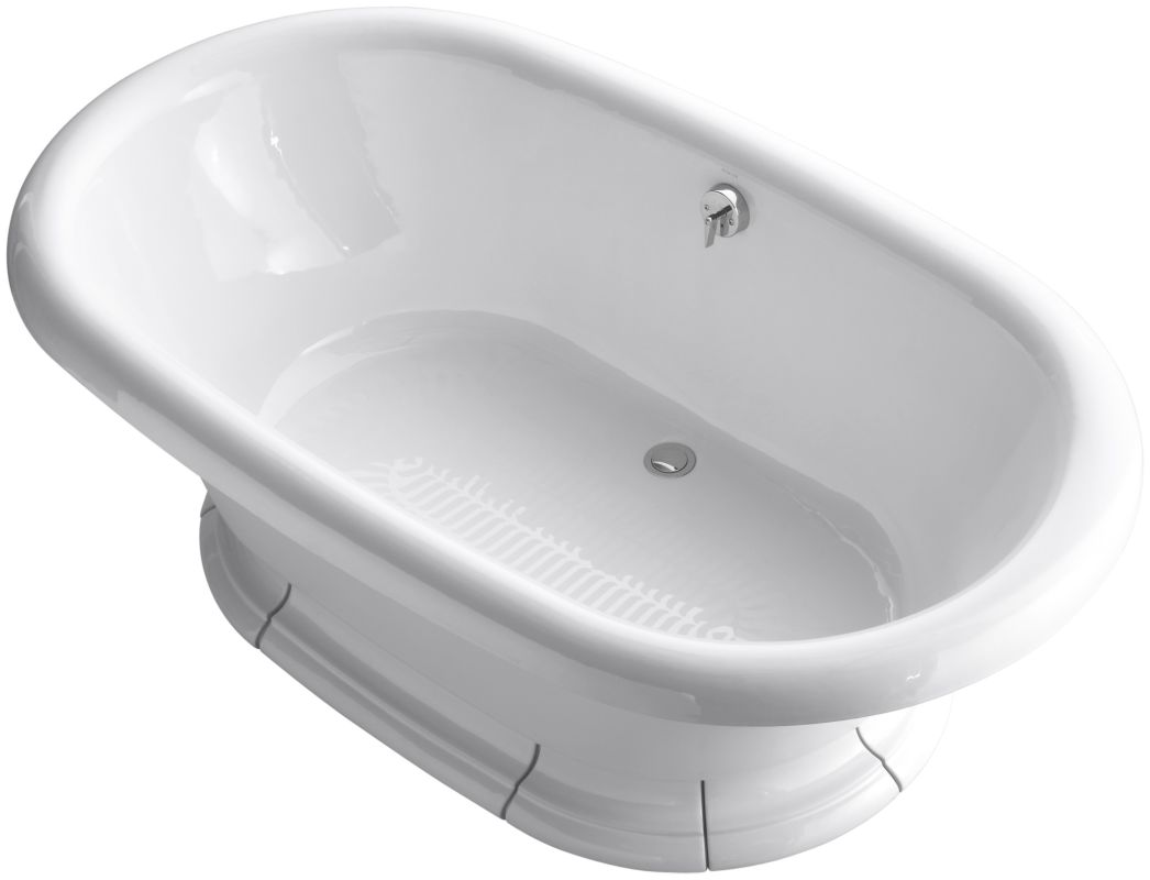 Kohler K 700 0 White Vintage Collection 72 Quot Free Standing