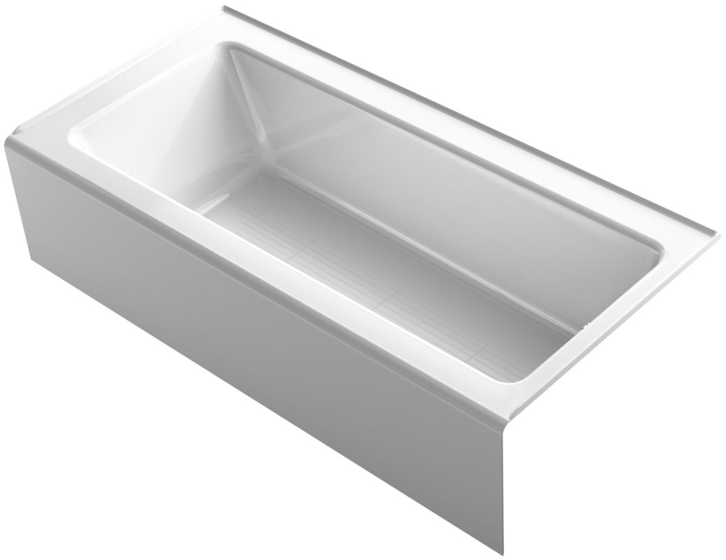 Kohler K 848 0 White Bellwether Bath Tub 66 Quot L X 32 Quot W