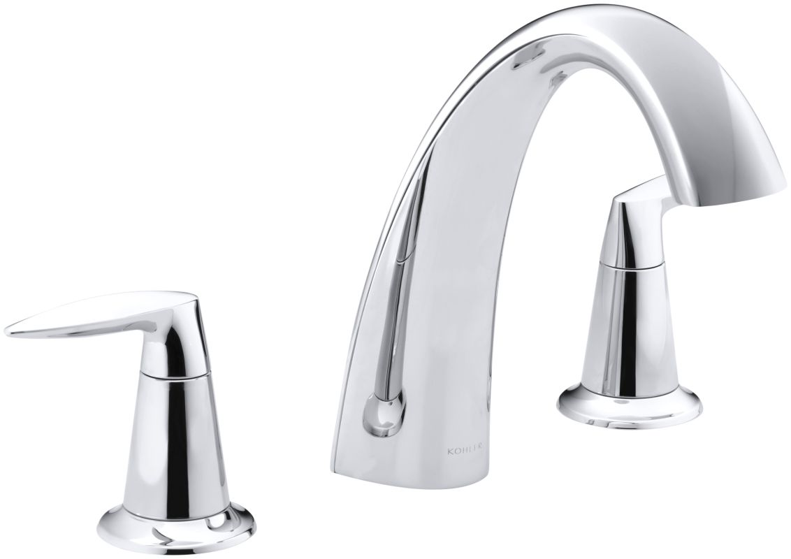Kohler K T45115 4 Cp Polished Chrome Alteo Double Handle