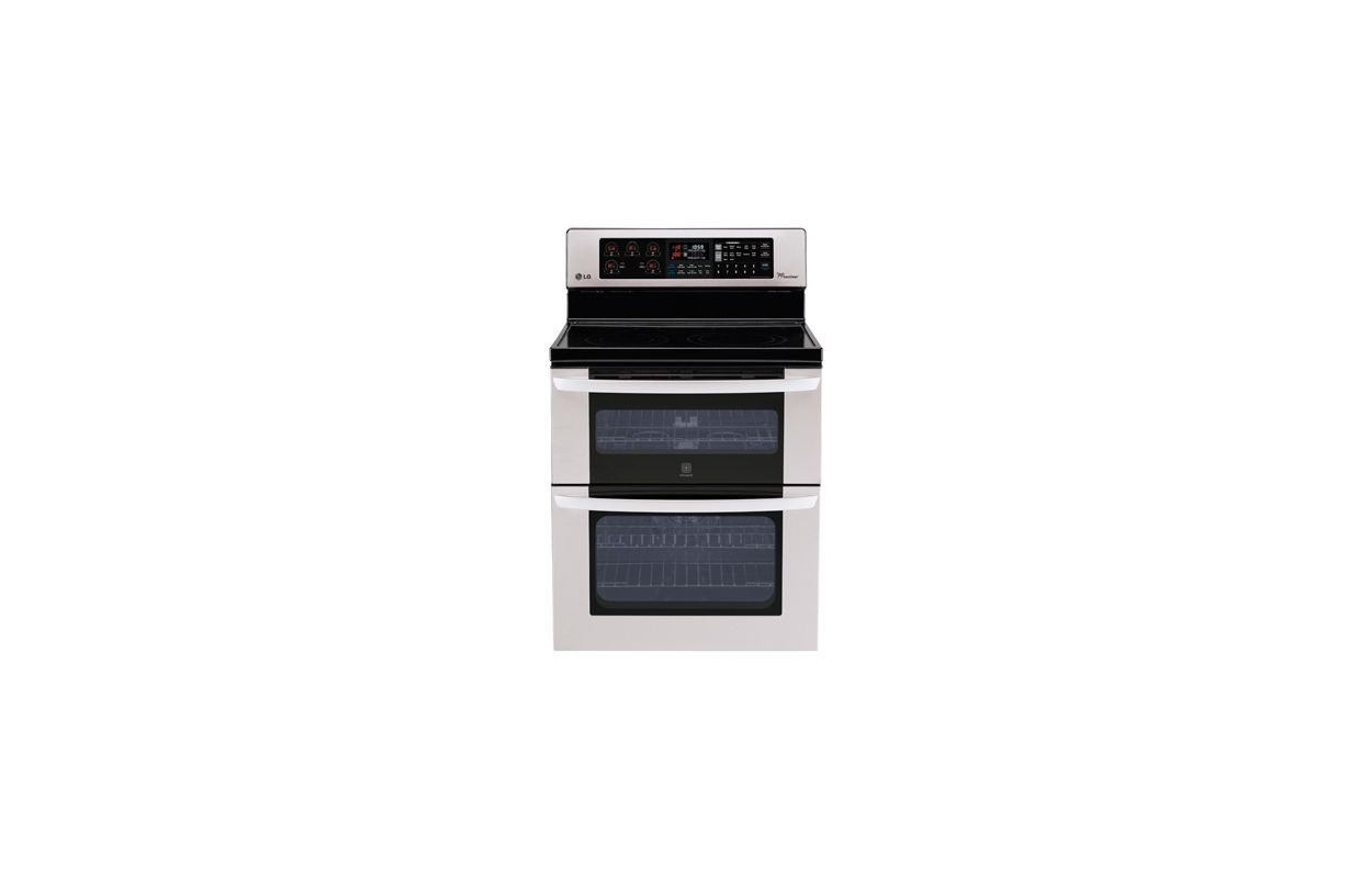 lg double oven range manual