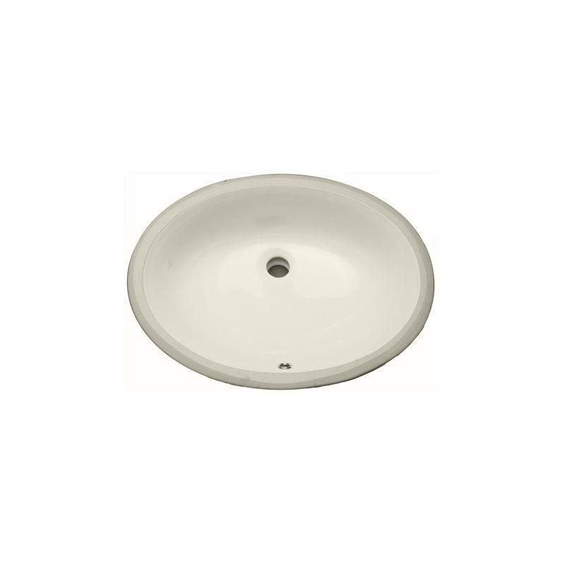 Proflo Pf1915ubs Biscuit 19 Quot Undermount Oval Bathroom Sink