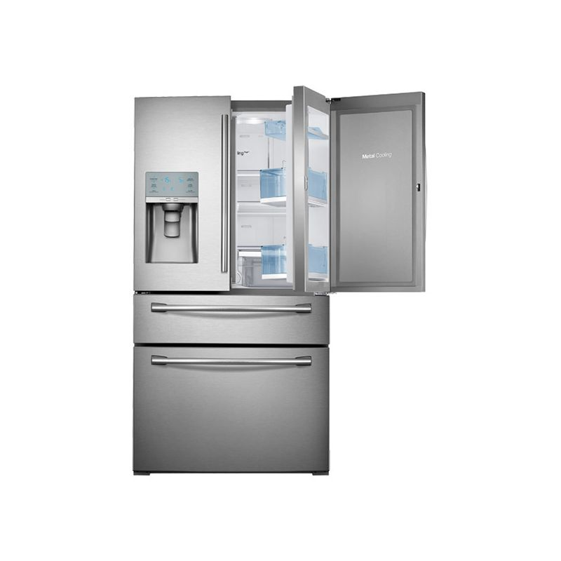 Samsung rf30hbedbsr stainless steel 36 inch wide 30 cu ft for 4 ft wide french doors