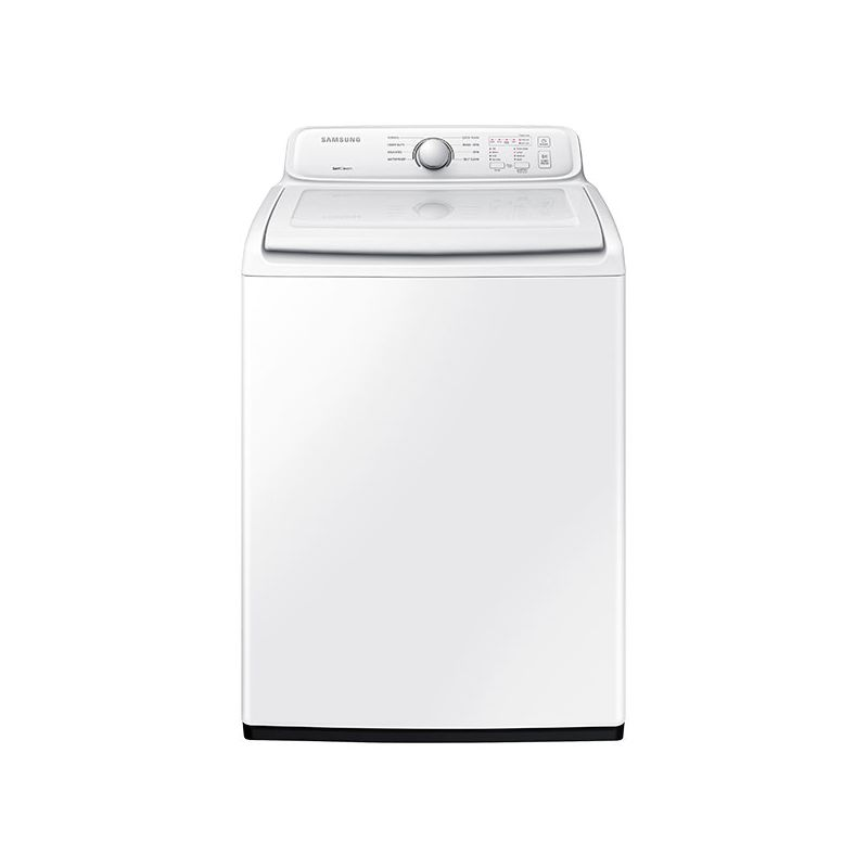 Samsung Wa40j3000aw White 27 Inch Wide 4 Cu Ft Top