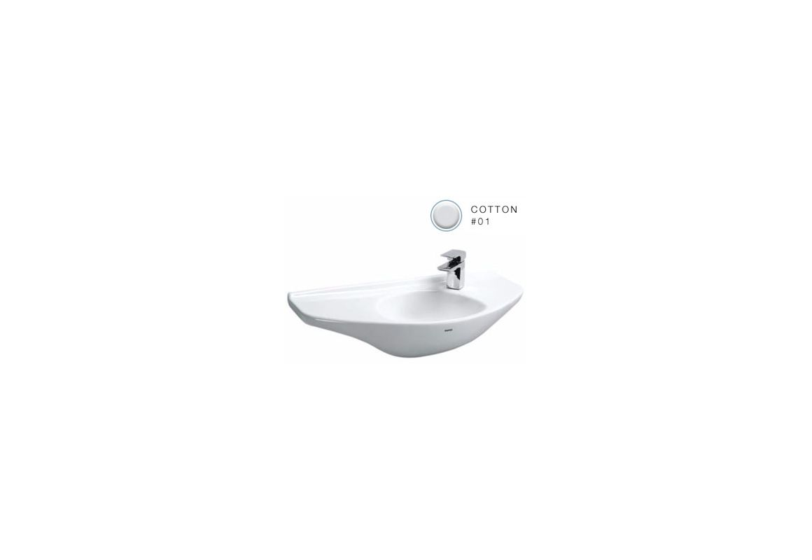 Toto Lt650g 01 Cotton 29 1 2 Quot Wall Mounted Bathroom Sink