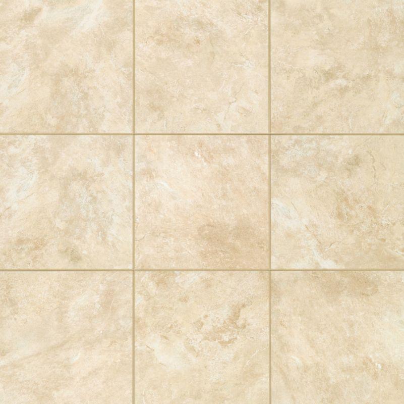 Mohawk industries t775 ce97 crema crema ceramic multi for 16 inch floor tile
