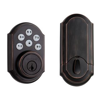 Venetian Bronze Smart Code 909 Deadbolt