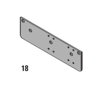 Lcn 404018 Aluminum Drop Plate For Hinge Mount Door