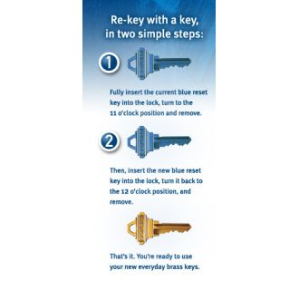 Three Simple Steps to Re-Key Your Schlage SecureKey