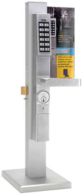 Alarm Lock Dl1300 26dkit Satin Chrome Trilogy T3 2000 User