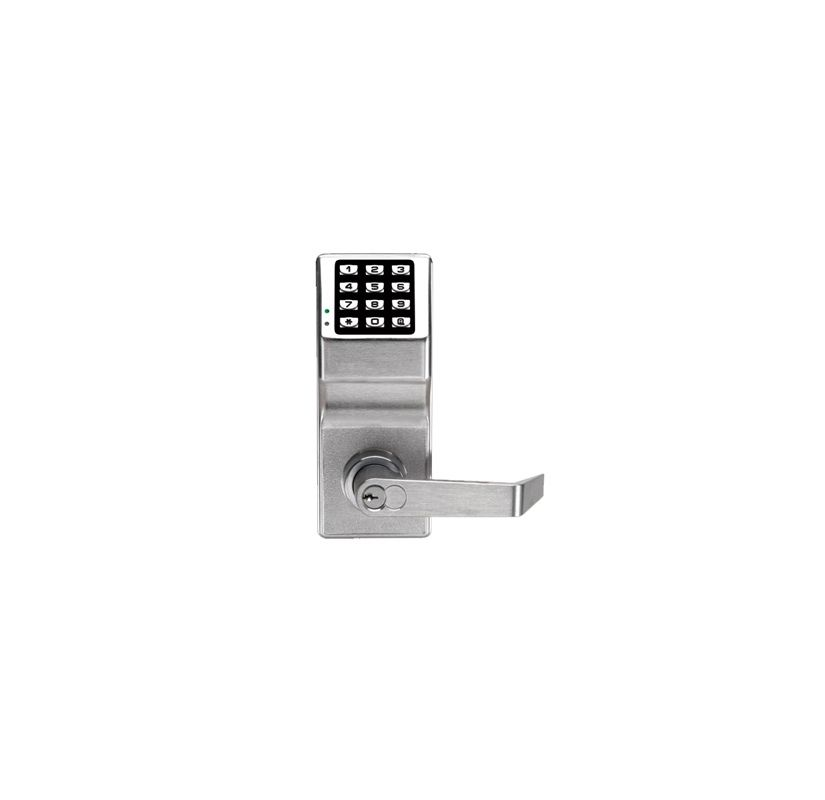 Alarm Lock Dl2700wp26d Satin Chrome Trilogy T2 100 User