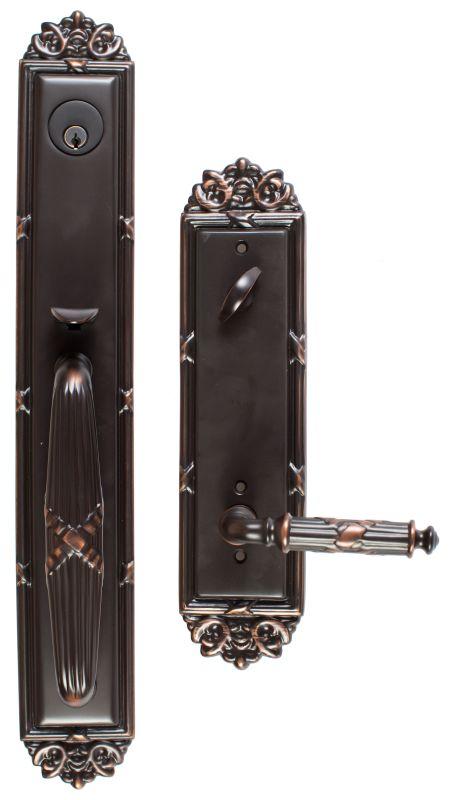 Emtek 4911us7 French Antique Imperial Single Cylinder