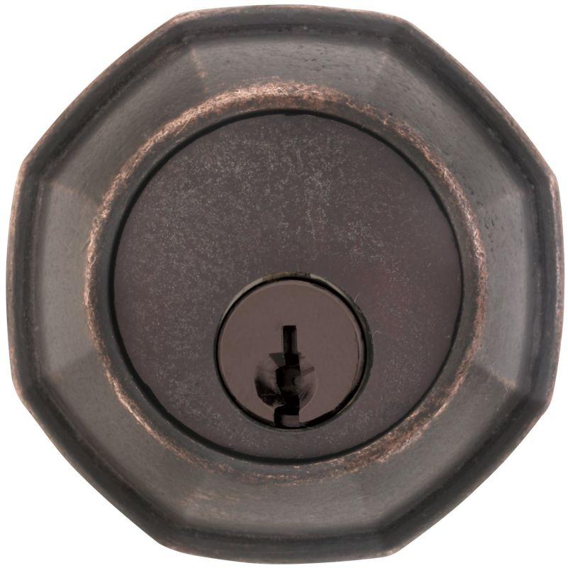 Emtek 8360us19 Flat Black Octagon Style Tuscany Bronze
