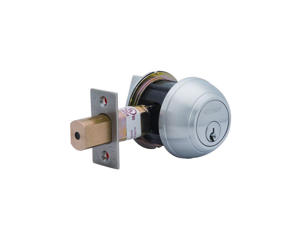 Ez Set 301601 Brushed Chrome Lm Series Single Cylinder