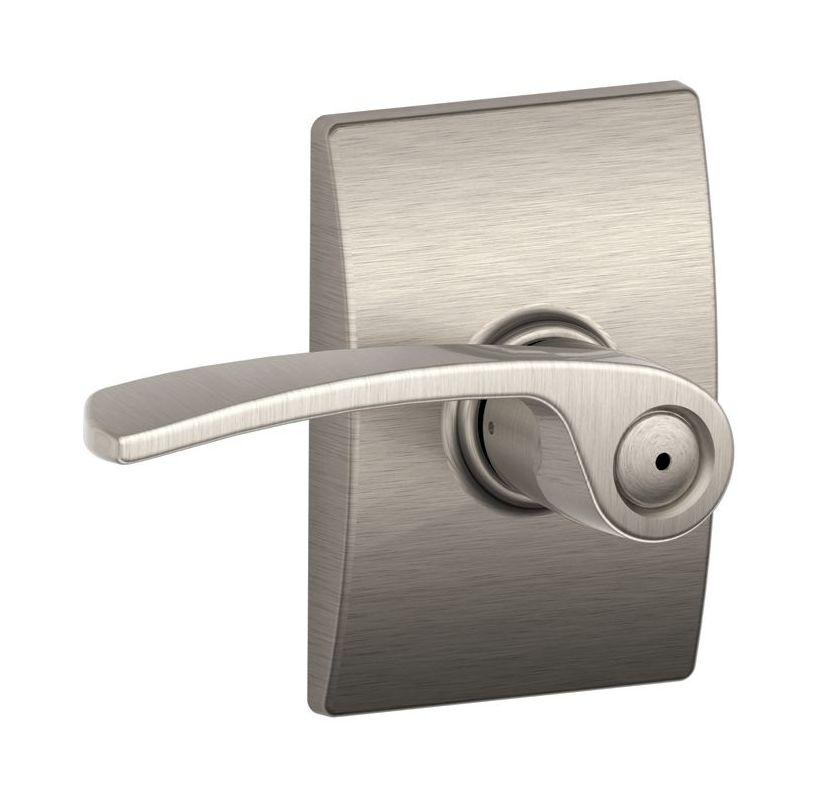 Schlage F40mer619cen Satin Nickel Merano Privacy Door