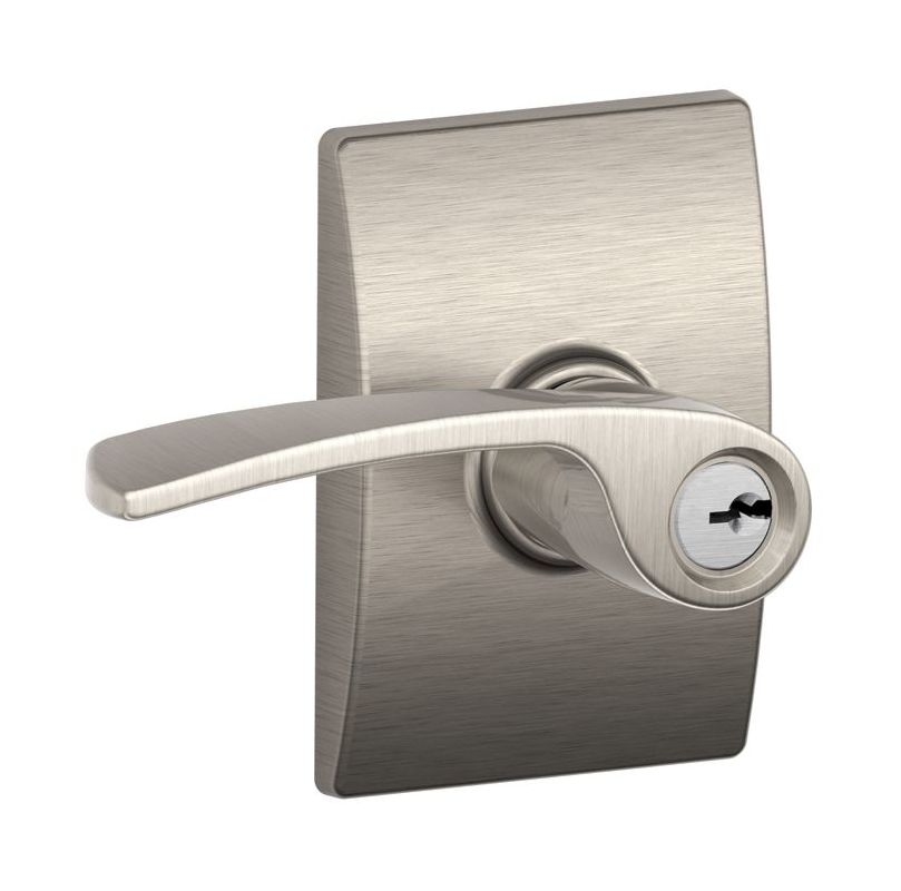 Schlage F51amer619cen Satin Nickel Merano Single Cylinder