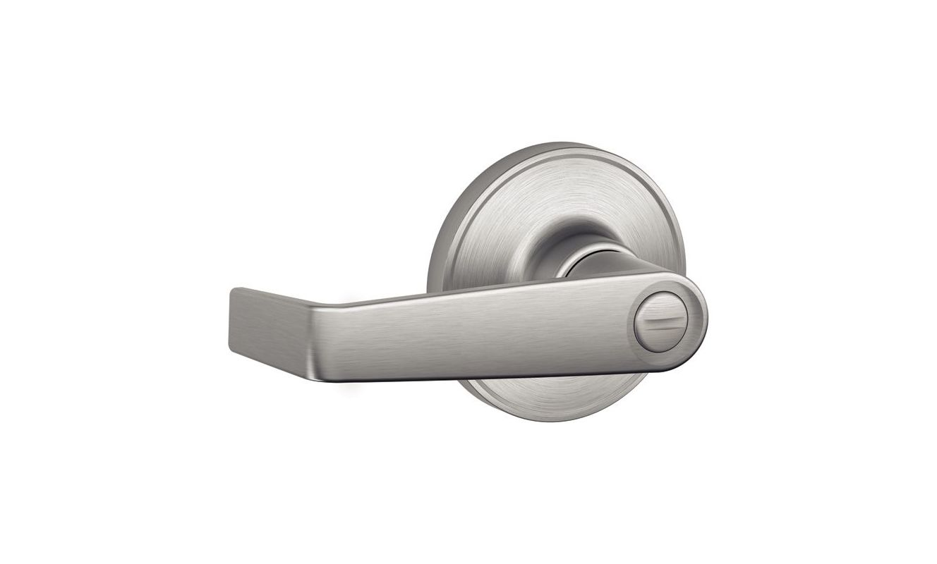 Schlage J40mar619 Satin Nickel Marin Privacy Leverset From