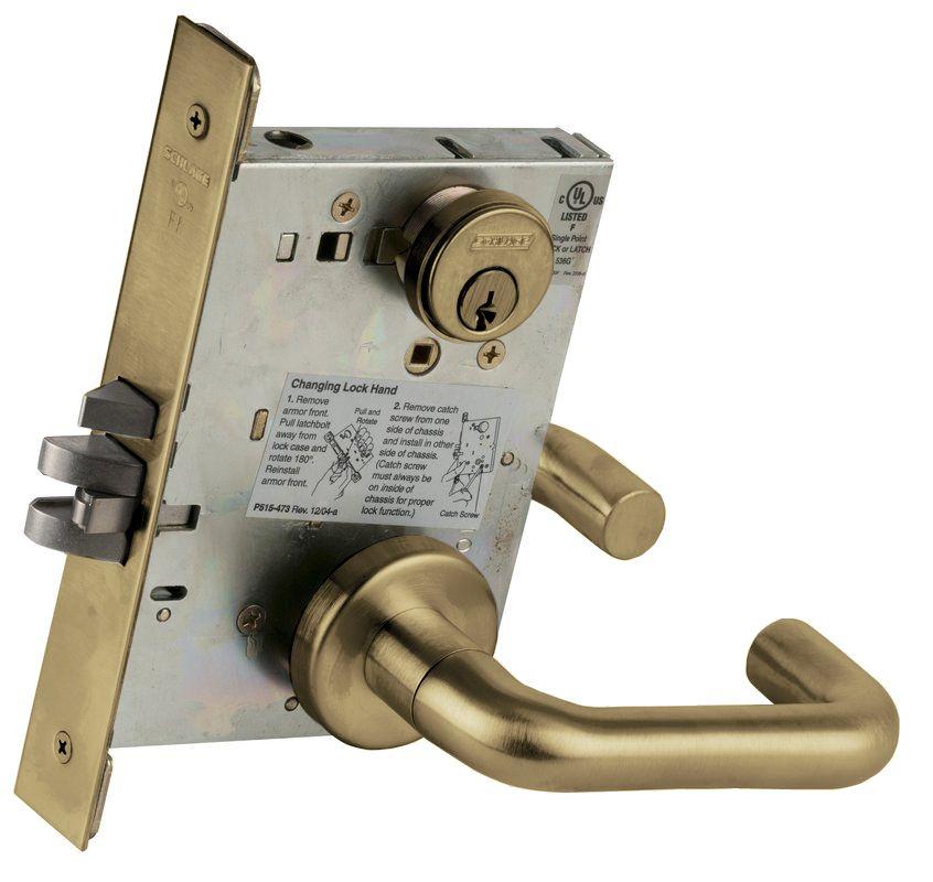 Schlage L9080643e Aged Bronze L Series Commercial Grade 1
