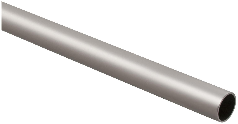 stanley home designs bb8182sn8 satin nickel 8 foot long closet rod
