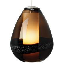 LBL Lighting Mini Miyu Dark Brown 75W Pendant