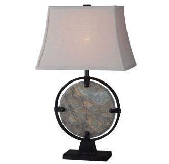 Kenroy Home 32226sl Natural Slate Suspension 1 Light Table
