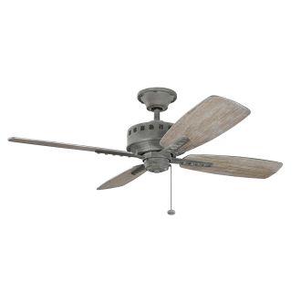 Kichler 310135wzc Weathered Zinc 52 Quot Indoor Ceiling Fan