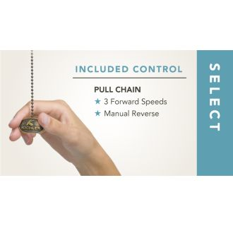 Included Pull Chain Control