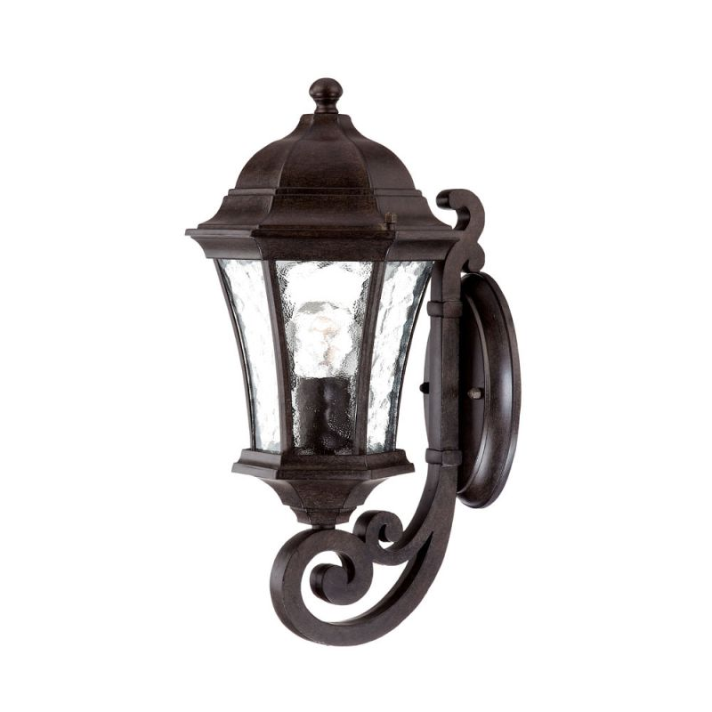 Acclaim lighting 3601bc black coral waverly 1 light 16 5 for Height of sconces