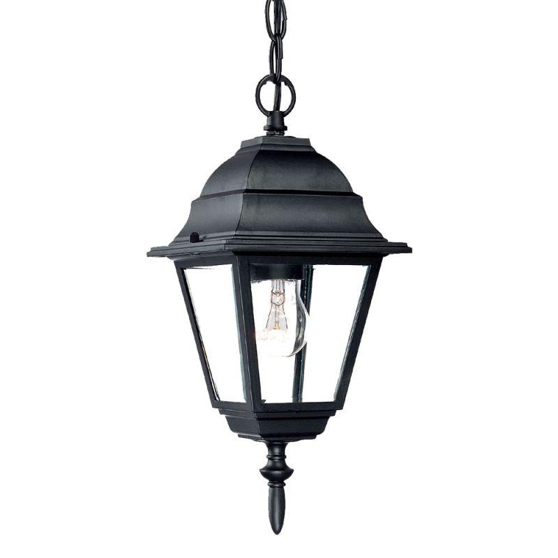 Pendant Lighting Height : Acclaim lighting bk matte black builder s choice