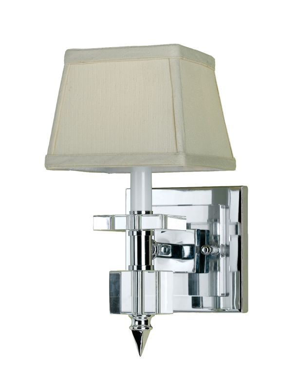 Af Lighting 6763 1w Crystal Chrome Candice Olson Quot Cluny