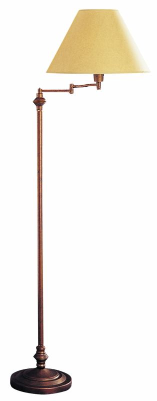 Cal lighting bo 314 ru rust 150 watt 59quot metal swingarm for 3 way 150 watt floor lamp