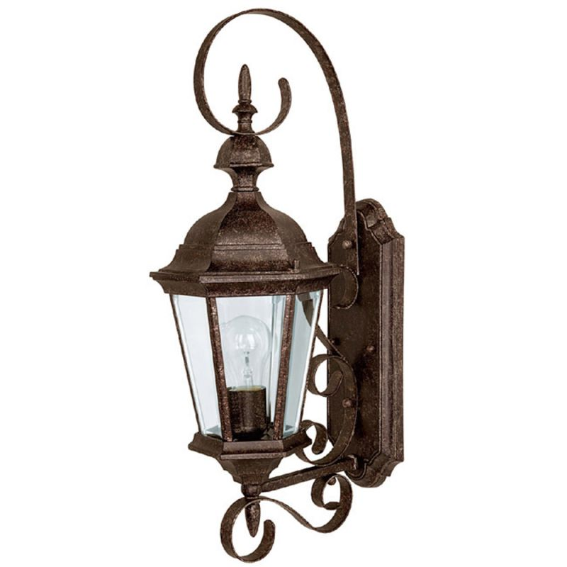 Capital lighting 9721ts tortoise carriage house 1 light outdoor wall sconce for Carriage house exterior lights