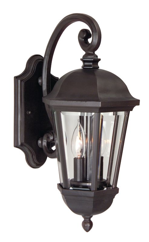 Craftmade Z3004-92 Oiled Bronze Britannia 2 Light Outdoor Wall Sconce - 8 Inches Wide ...