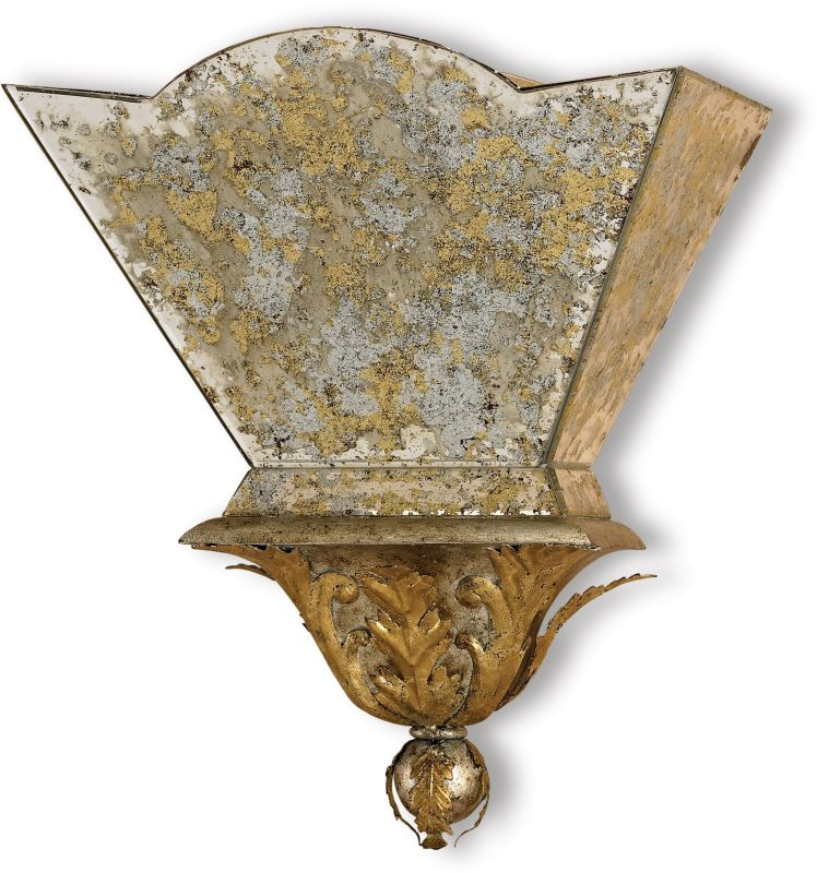 Currey And Company Warranty: Currey And Company 5043 Gold Leaf/ Majestic Silver Leaf