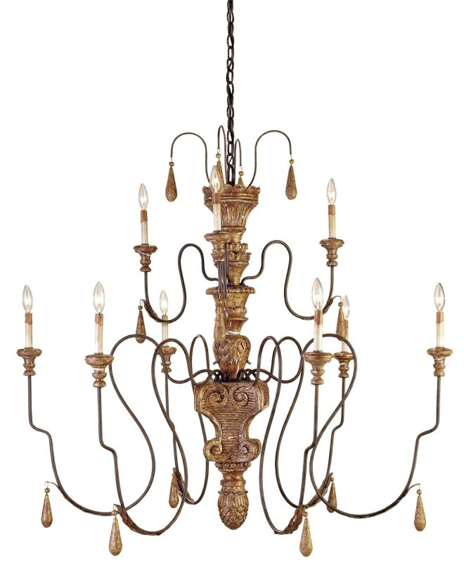 Currey And Company Warranty: Currey And Company 9324 Mansion Gold Mansion Chandelier