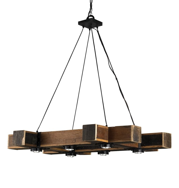 Currey And Company Warranty: Currey And Company 9429 Natural Oracle Chandelier With