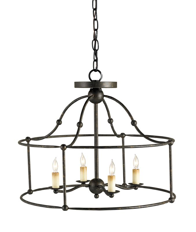 Currey And Company Warranty: Currey And Company 9878 Mayfair Fitzjames 4 Light Pendant